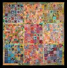 Sue Benner art quilt