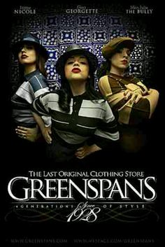 Greenspan clothing store