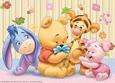 Disney Winnie the Pooh Tigger Eeyore Heffalump 500 Pieces Jigsaw Puzzle Winnie The Pooh Christmas, Cute Winnie The Pooh, Winne The Pooh, Winnie The Pooh Friends, Baby Friends, Disney Phone Wallpaper, Wallpaper Iphone Cute, Disney Drawings, Cute Drawings