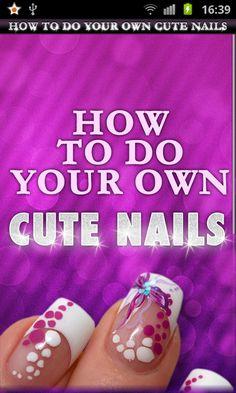 Most Beautiful and Popular Pins of Nail Designs -Follow Me, get inspired and get more nail desings - nail art :)