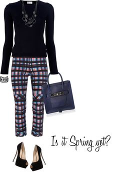 """Pants by 10 CROSBY DEREK LAM"" by fashionmonkey1 ❤ liked on Polyvore"