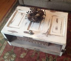Coffee table door by Householdhobby on Etsy, $300.00
