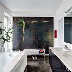 Before and After Bathroom Makeovers Photos | Architectural Digest