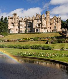 Skibo Castle. Just a few nights or so would do. I don't need it forever.