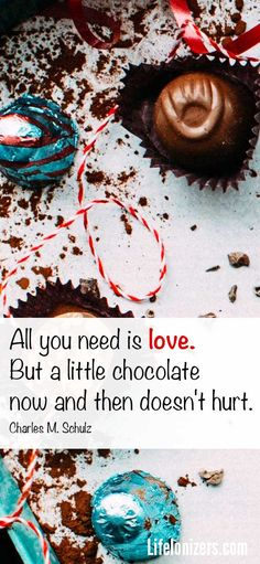 Especially dark chocolate!