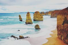 #twelveapostles #greatoceanroad #port #campbell #victoria #australia #beach #sand #throwback #travel by fionawijayaoei
