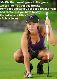 A golf thought from one of Taylor Collins' favorite progolfer Bobby Jones! #golf #lorisgolfshoppe