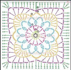 1. 6lftm-Ring schließen 2. 1lftm/12fm-schließen 3. 1Lftm 1Stb 1Lftm 1Stb bis Ende 4. siehe Vorlage.
