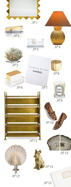 {at the office | decor inspiration : white, gold & leopard print}