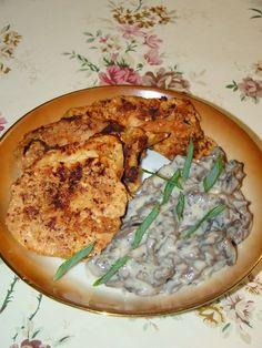 Cristina's world: Salata de ciuperci cu maioneza dukan Dukan Diet, I Foods, Hummus, Camembert Cheese, Recipies, Food And Drink, Meat, Chicken, Cooking