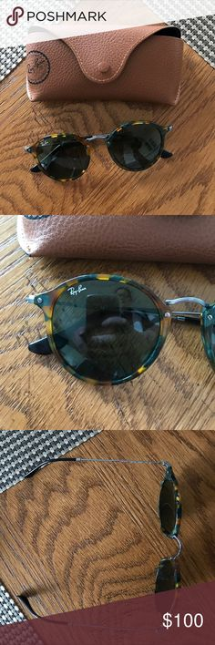 Ray Ban sunglasses Ray Ban sunglasses with case. Barely worn Ray-Ban Accessories Sunglasses