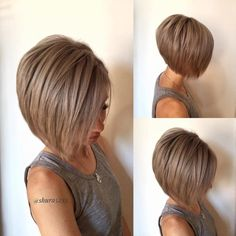 Here we have collected Haircut Ideas for Trendy Women so that we can find the right way to do it. Short Thin Hair, Short Hair With Layers, Short Hair Cuts For Women, Medium Hair Cuts, Long Hair Cuts, Medium Hair Styles, Short Hair Styles, Short Bob Haircuts, Hair Color And Cut