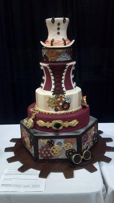 Steampunk wedding Cakes | Steampunk Wedding Cake (Austin, TX) | Steampunk Wedding