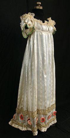 Regency gown