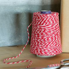 Baker's Twine in Holiday Trim Your Gifts Gift Wrap at Terrain Holiday Gifts, Holiday Decor, Arts And Crafts, Diy Crafts, Brown Paper Packages, Bakers Twine, Party Plates, Craft Shop, Making Memories