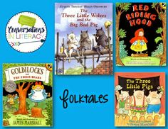 Folktales & Fun activities to teach with them!