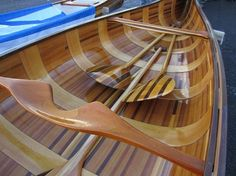 How's this for a canoe…..what a piece of art | WoodworkerZ.com