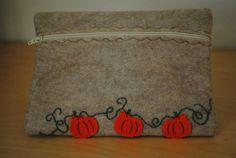 Pumpkin Clutch by GeauxCraft on Etsy, $13.00