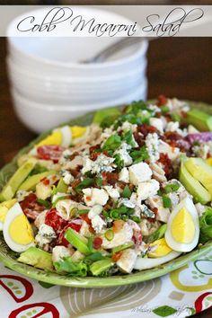 Melissa's Southern Style Kitchen: Cobb Macaroni Salad
