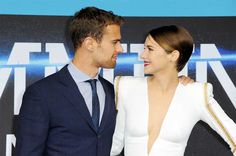 Shailene Woodley and Theo James Relationships Believed To Be Fake  #hollywood, #celebrities, #celebrity
