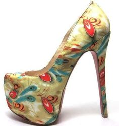 Patterned Platform Shoes