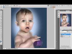 Обработка портрета в стиле Джилл Гринберг