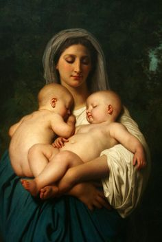 Charity (William-Adolphe Bouguereau)