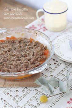 A la recherche d'une recette plus saine de crumble, essayez cette recette de crumble healthy aux abricots