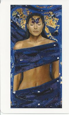 Third Eye Chakra - 'Indigo Dreams' by Jo Jayson