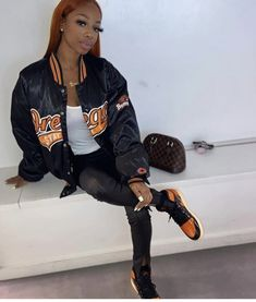 Swag Outfits For Girls, Hot Outfits, Winter Outfits, Fashion Outfits, Womens Fashion, Baddie, Sew In Hairstyles, Sporty Girls, College Outfits