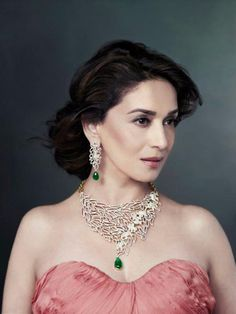 Goddess among mortals. #Madhuri #Bollywood
