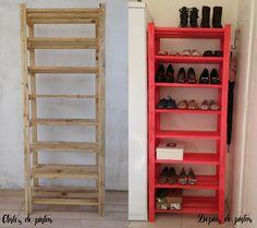 Bianca Schultz | Blog de Moda e Beleza de Porto Alegre: DIY - Sapateira de madeira