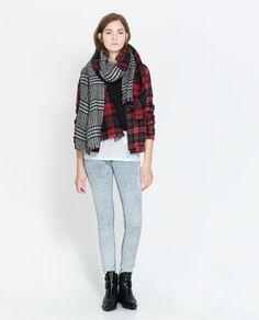 Image 1 of DENIM JEGGINGS from Zara