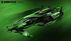 VORTEX PRIME - Hurricane Racing | Flux Edition by IllOO