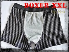 pattern, free : Daily Naii: Male Boxer not in english. Mens Sewing Patterns, Sewing Men, Sewing Clothes, Love Sewing, Lingerie Couture, Sewing Lingerie, Underwear Pattern, Male Boxers, Gym Shorts Womens