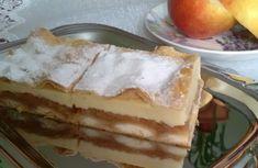 Jablkovo-pudingový koláč z lístkového cesta (fotorecept) Tiramisu, Waffles, Cheesecake, Treats, Breakfast, Ethnic Recipes, Sweet, Food, Hampers