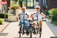 Libres dans le village Alzheimer  #alzheimer