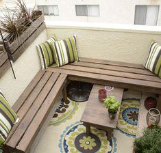 Lovely small balcony