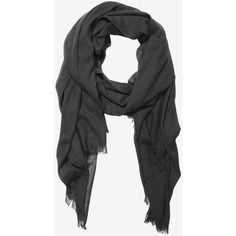 Express Gray Solid Woven Quad Scarf (705 DOP) ❤ liked on Polyvore featuring accessories, scarves, grey, woven scarves, lightweight scarves, woven shawl, grey shawl and wrap shawl