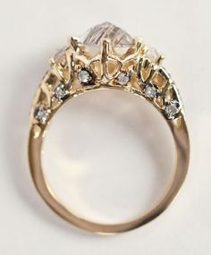 Maniamania Immortalia Gold Ceremonial Ring