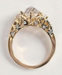 Gold Ceremonial Ring | Immortalia by Maniamania