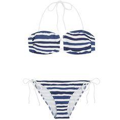 Bikini tengerész stílusban