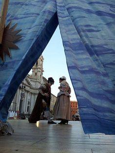 Commedia dell'Arte Piazza Navona Leonardo Petrillo Carnevale Romano 2012 02 12_124324