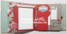 Creating with Christine: Sparkle & Shine Artbooking Mini Album