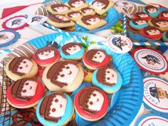 Playmobil cookies