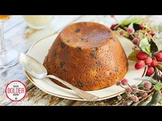 My Simplified Mincemeat Christmas Pudding is the easiest & best way to get this impossibly moist holiday cake onto your table this season! Pudding Desserts, Pudding Recipes, Brunch Recipes, Sweet Recipes, Xmas Recipes, No Knead Pizza Dough, Cake Baking Pans, Brownie Cake, Brownies