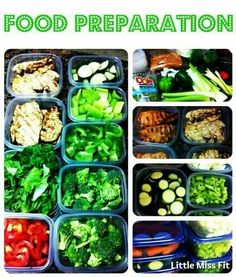 Prep you food ahead of time to be ready for your success... Www.fitteam.com / judikozminske ♡