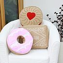 Biscuit Shaped Cushion