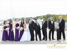 Nautical Wedding Party
