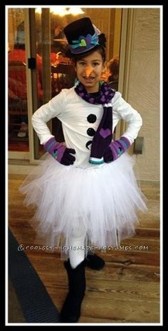 I was really happy with the way this costume turned out -- and it was actually pretty easy to make. I made the tutu skirt out of tulle tied around an ...